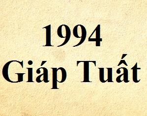Kết quả hình ảnh cho tuổi 1994